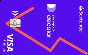Cartão Decolar Santander Visa Platinum