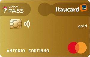 Cartão LATAM Pass Itaucard Mastercard Gold