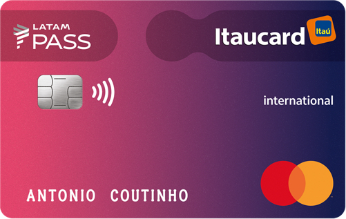 Cartão LATAM Pass Itaucard Mastercard Internacional