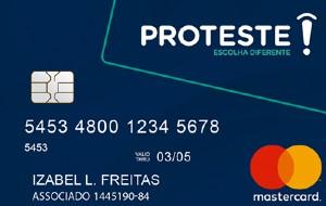 Cartão Proteste Mastercard