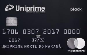 Cartão Uniprime Mastercard Black