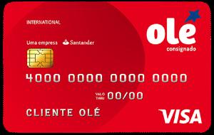 Cartão Olé Consignado